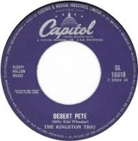 Cover The Kingston Trio - Desert Pete