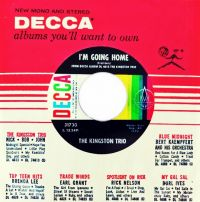 Cover The Kingston Trio - I'm Going Home
