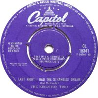 Cover The Kingston Trio - Last Night I Had The Strangest Dream