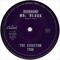 Cover The Kingston Trio - Reverend Mr. Black