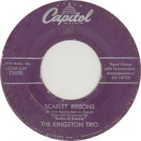 Cover The Kingston Trio - Scarlet Ribbons For Her Hair