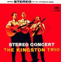 Cover The Kingston Trio - Stereo Concert
