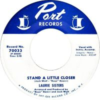 Cover The Laurie Sisters - Stand A Little Closer