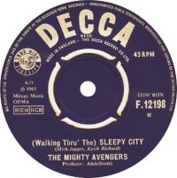 Cover The Mighty Avengers - (Walking Thru' The) Sleepy City