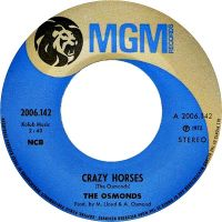 Cover The Osmonds - Crazy Horses