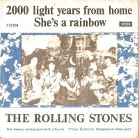 Cover The Rolling Stones - 2000 Light Years From Home