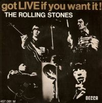 Cover The Rolling Stones - Got LIVE If You Want It!
