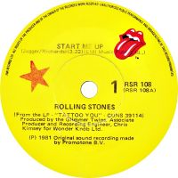 Cover The Rolling Stones - Start Me Up