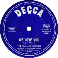 Cover The Rolling Stones - We Love You