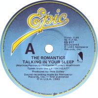 Cover The Romantics - Talking In Your Sleep