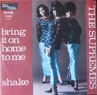 Cover The Supremes - Bring It On Home To Me