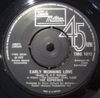 Cover The Supremes - Early Morning Love