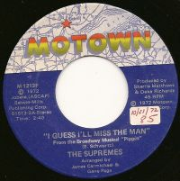 Cover The Supremes - I Guess I'll Miss The Man