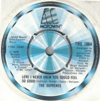 Cover The Supremes - Love I Never Knew You Could Feel So Good