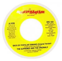 Cover The Supremes And The Originals - Back By Popular Demand