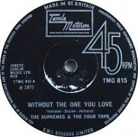 Cover The Supremes & The Four Tops - Without The One You Love