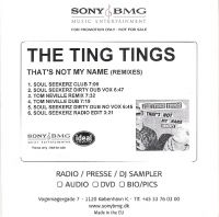 Cover The Ting Tings - That's Not My Name