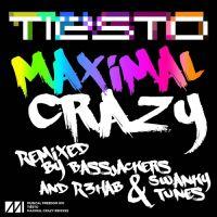 Cover Tiësto - Maximal Crazy