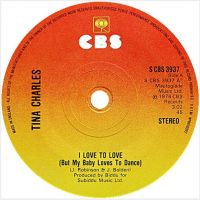 Cover Tina Charles - I Love To Love