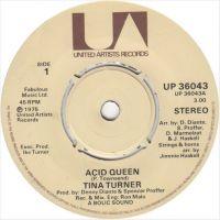 Cover Tina Turner - Acid Queen