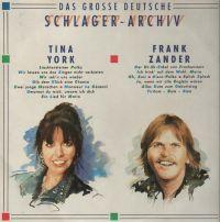 Cover Tina York / Frank Zander - Das grosse deutsche Schlager-Archiv