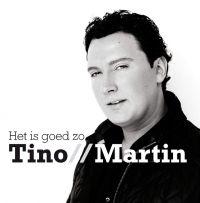 Cover Tino Martin - Het is goed zo