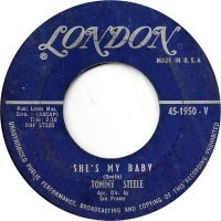 Cover Tommy Steele - She's My Baby