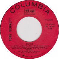 Cover Tony Bennett - Coco