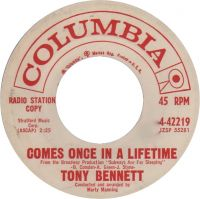 Cover Tony Bennett - Comes Once In A Lifetime