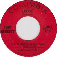 Cover Tony Bennett - Days Of Love