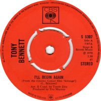 Cover Tony Bennett - I'll Begin Again