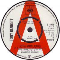 Cover Tony Bennett - Little Green Apples