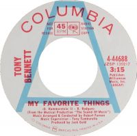 Cover Tony Bennett - My Favorite Things