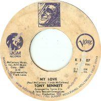 Cover Tony Bennett - My Love