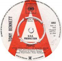 Cover Tony Bennett - People