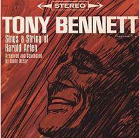Cover Tony Bennett - Sings A String Of Harold Arlen