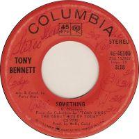 Cover Tony Bennett - Something