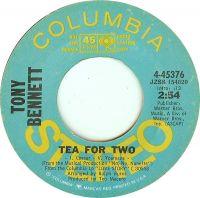 Cover Tony Bennett - Tea For Two