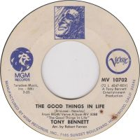 Cover Tony Bennett - The Good Things In Life