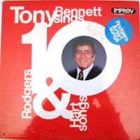Cover Tony Bennett - Tony Bennett Sings 10 Rodgers & Hart Songs