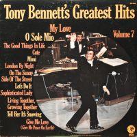 Cover Tony Bennett - Tony Bennett's Greatest Hits Volume 7