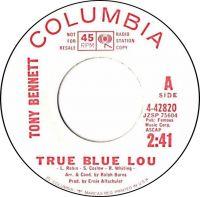 Cover Tony Bennett - True Blue Lou