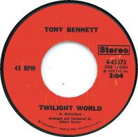 Cover Tony Bennett - Twilight World