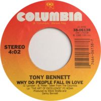 Cover Tony Bennett - Why Do People Fall In Love