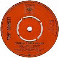Cover Tony Bennett - Yesterday I Heard The Rain (Esta tarde vi llover)