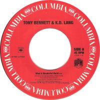 Cover Tony Bennett & k.d. lang - What A Wonderful World