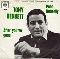 Cover Tony Bennett with Frank De Vol And His Orchestra - Poor Butterfly