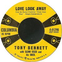 Cover Tony Bennett with Glenn Osser And His Orchestra - Love Look Away