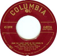 Cover Tony Bennett with Percy Faith And His Orchestra - From The Candy Store On The Corner To The Chapel On The Hill