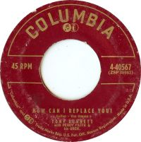 Cover Tony Bennett with Percy Faith And His Orchestra - How Can I Replace You?